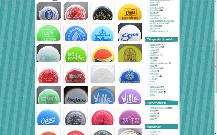 Os filtros em toda a página são recalculadas e passam a exibir o número de itens levando em conta o filtro clicado.