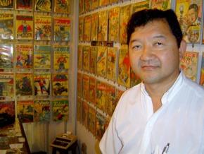 Colecionador Kendi Sakamoto